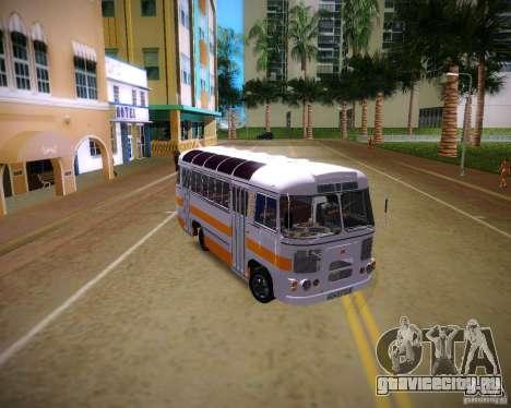 ПАЗ-672 для GTA Vice City вид справа