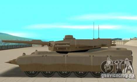 Танк Lame nel Rhino для GTA San Andreas вид слева