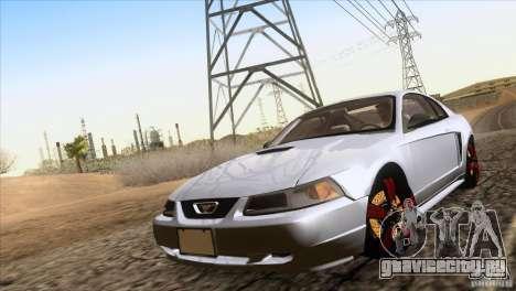 Ford Mustang GT 1999 для GTA San Andreas вид справа