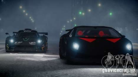 Lamborghini Sesto Elemento 2013 V2.0 для GTA 4 вид изнутри