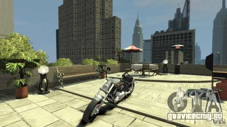 Harley Davidson V-Rod (ver. 0.1 beta) HQ для GTA 4 вид слева