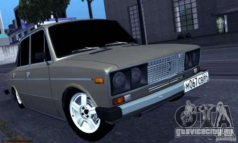 ВАЗ 2106 Бродяга для GTA San Andreas вид слева