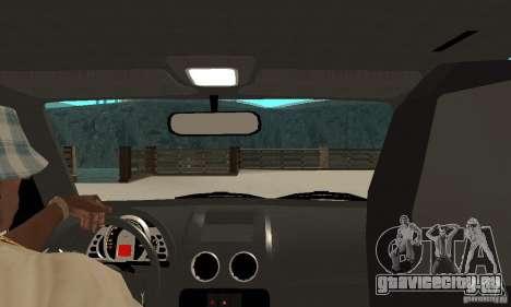 Volkswagen Gol G4 Taxi для GTA San Andreas вид справа