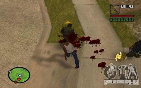 Штык-нож АКМ для GTA San Andreas третий скриншот