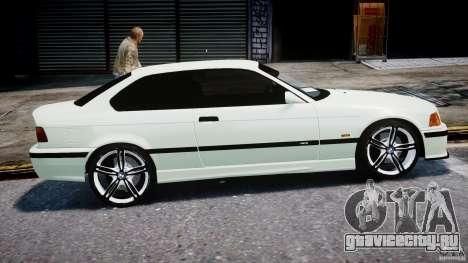 BMW e36 M3 для GTA 4 вид изнутри