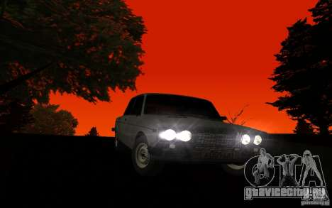 ВАЗ 2106 Тюмень для GTA San Andreas вид сзади