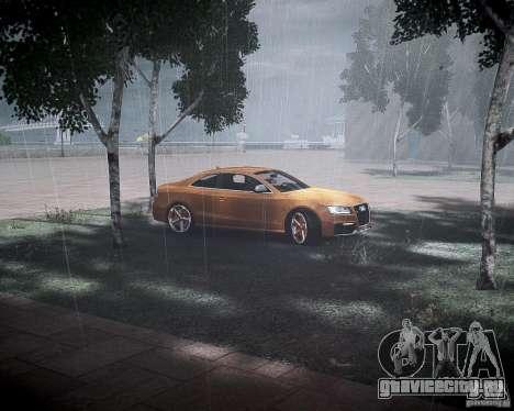 Audi RS5 2010 для GTA 4 вид изнутри