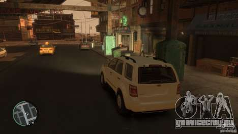 Ford Escape 2011 для GTA 4 вид слева