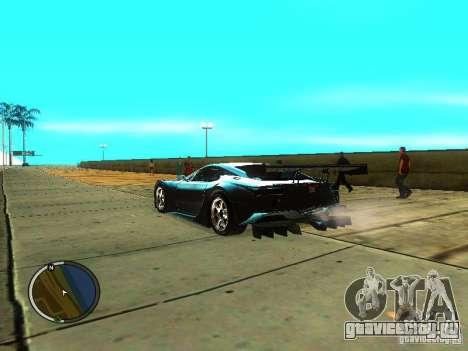 Lexus LFA для GTA San Andreas вид слева