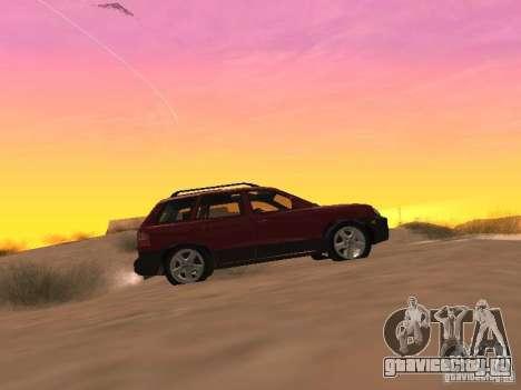 Hyundai Santa Fe Classic для GTA San Andreas вид слева