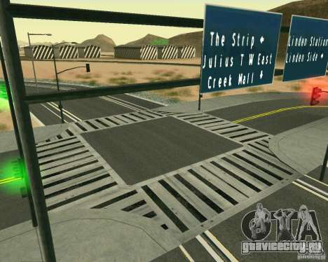 GTA 4 Road Las Venturas для GTA San Andreas