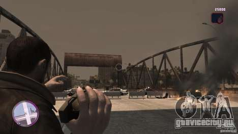 VC Style Radar/HUD (скин 2) для GTA 4 второй скриншот