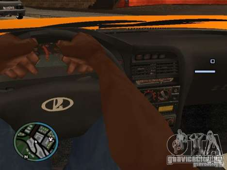 Lada Priora DagStailing для GTA San Andreas вид слева