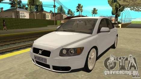 Volvo S40 2009 для GTA San Andreas