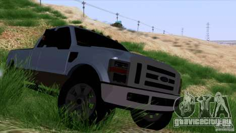 Ford F350 Super Dute для GTA San Andreas