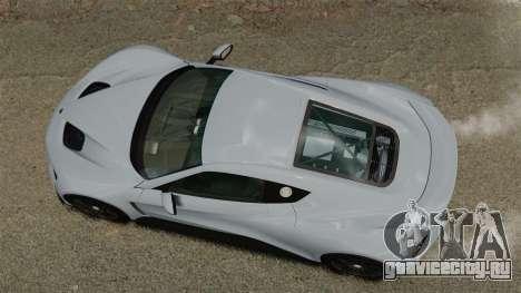 Zenvo ST1 для GTA 4 вид справа