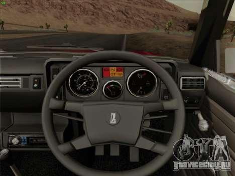 Lada 2105 RIVA (Экспортная) 2.0 для GTA San Andreas двигатель
