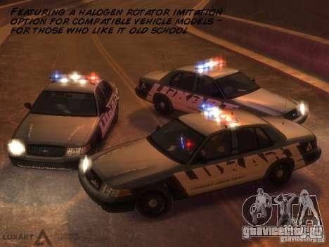EMERGENCY LIGHTING SYSTEM V6 для GTA 4 седьмой скриншот