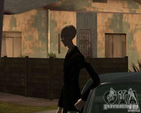 Слендер в темных очках для GTA San Andreas четвёртый скриншот