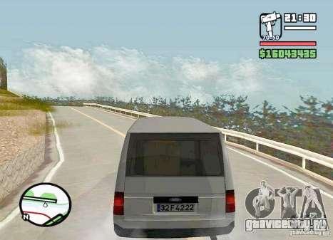 Ford Transit 1999 для GTA San Andreas вид слева