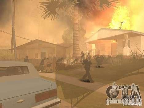 Quake mod [Землетрясение] для GTA San Andreas третий скриншот