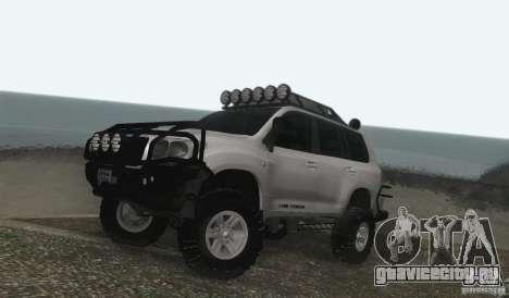 Toyota Land Cruiser 200 Off Road v1.0 для GTA San Andreas вид слева