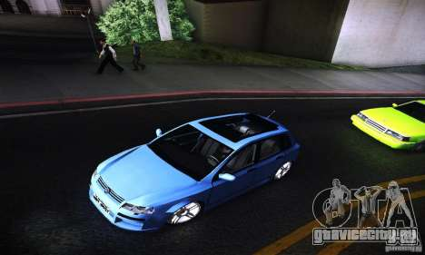 Fiat Stilo Abarth 2005 для GTA San Andreas вид сзади