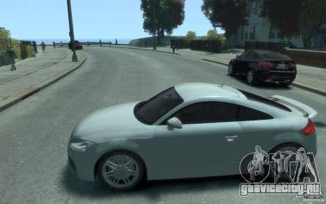 Audi TT-RS для GTA 4 вид слева