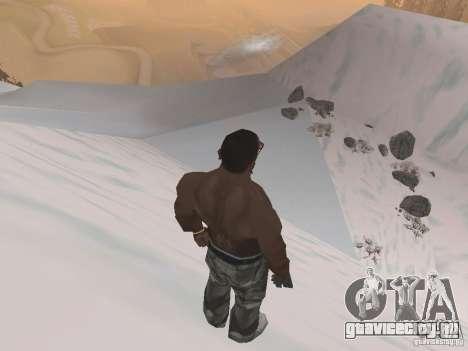 Зима для GTA San Andreas девятый скриншот