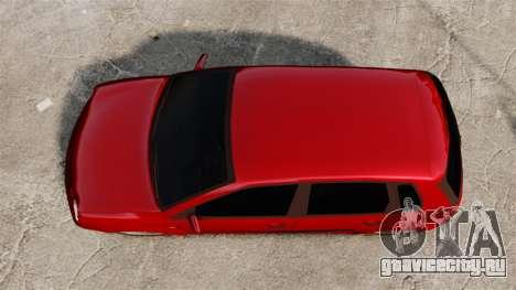 Volkswagen Polo Edit для GTA 4 вид справа
