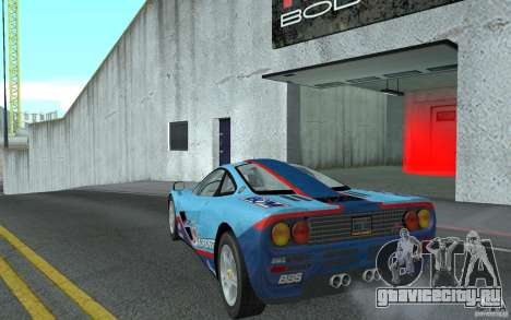 Mclaren F1 road version 1997 (v1.0.0) для GTA San Andreas