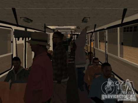 Прицеп к Икарусу 280.46 для GTA San Andreas вид сзади слева