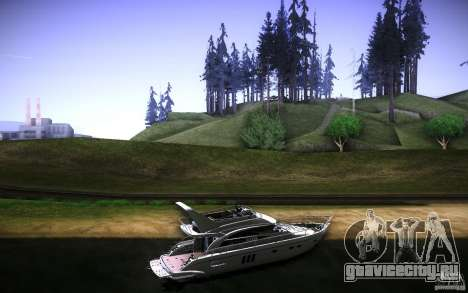 Yach by Tatui@tret для GTA San Andreas вид сзади