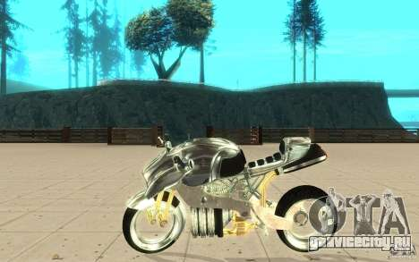 New NRG Chrome version для GTA San Andreas вид слева