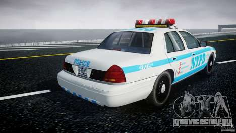 Ford Crown Victoria 2003 v.2 Police для GTA 4 вид сбоку