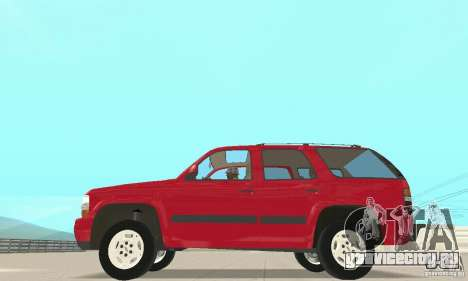 Chevrolet Tahoe 1992 для GTA San Andreas вид слева