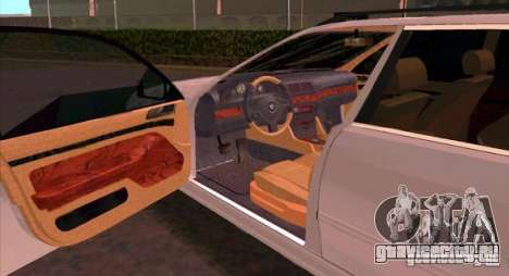 BMW 525 Touring V2 для GTA San Andreas вид справа