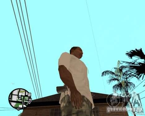 Нормальные руки CJя для GTA San Andreas второй скриншот