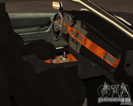 BMW M6 E24 для GTA San Andreas вид сбоку