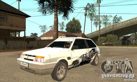 ВАЗ 2108 Tuned для GTA San Andreas