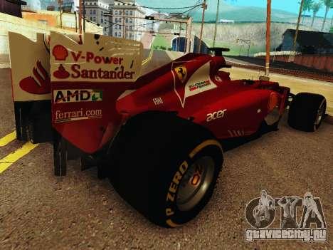 Ferrari F2012 для GTA San Andreas