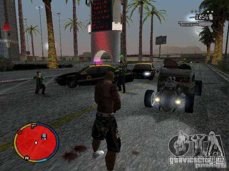 GTA IV HUD v2 by shama123 для GTA San Andreas пятый скриншот