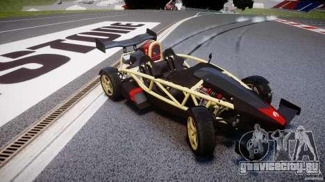 Ariel Atom 3 V8 2012 для GTA 4 вид изнутри