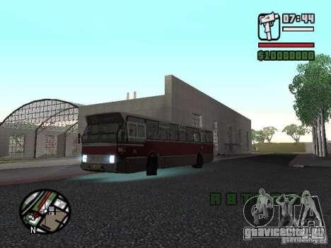 DAF CSA 1 City Bus для GTA San Andreas вид сзади слева