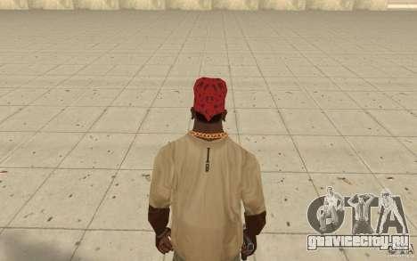 Бандана maryshuana red для GTA San Andreas третий скриншот