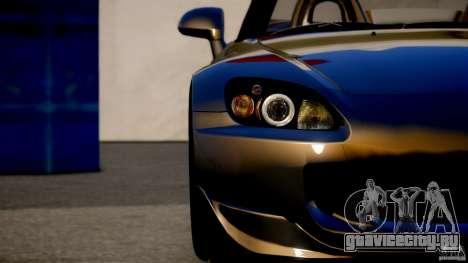 Honda S2000 для GTA 4 вид сзади слева
