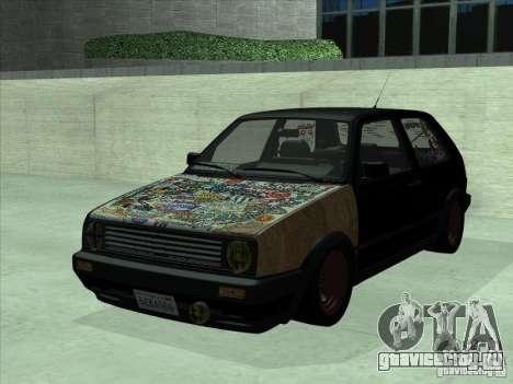Volkswagen Golf 2 Rat Style для GTA San Andreas
