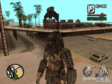 Хищник на замену армейца для GTA San Andreas
