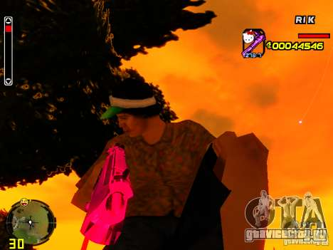 Hello Kitty weapon для GTA San Andreas второй скриншот