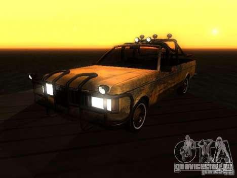Regina War для GTA San Andreas вид сзади